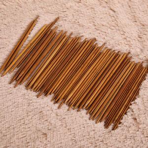 55-Stueck-Bambus-Stricknadel-Set-Dual-Spitz-11-Groessen-2-5mm-Laenge-14cm-Nadelspiel