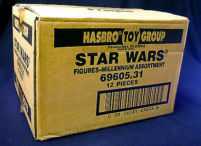 Star Wars Hasbro Action Figure Case 69610 12 Figures Deluxe 1996 Sealed Amricons