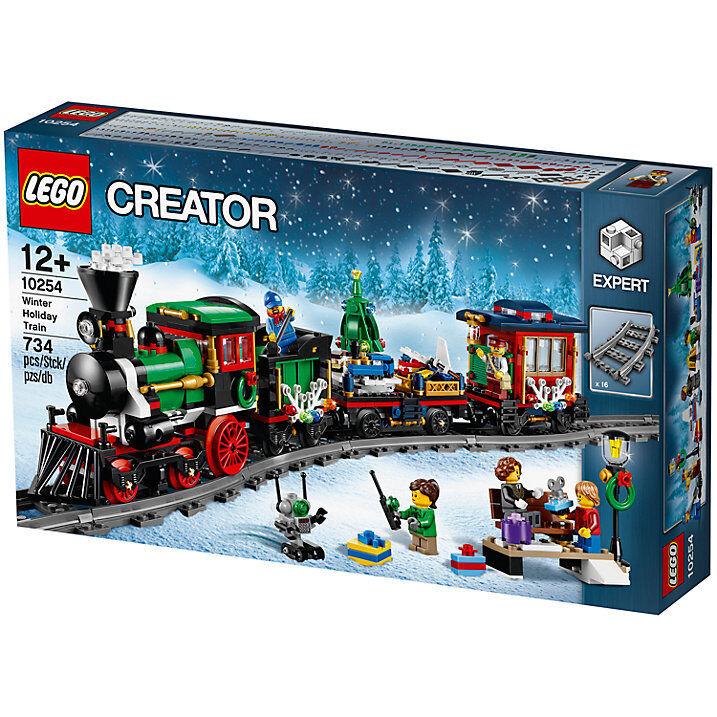 Lego 10254 Creator Winter Urlaub Train Brand new in sealed Box