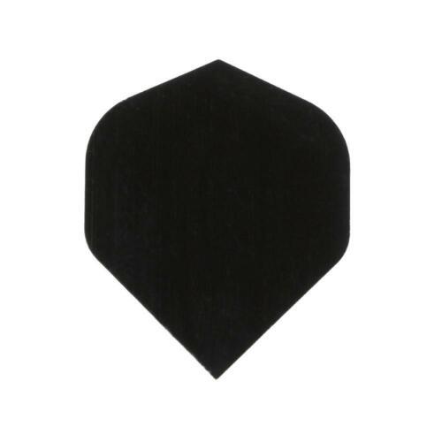 30 Pcs PET Dart Flights High Quality Simple Black Darts Accessories Z8I3