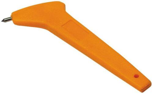 Carbure de tungstène Astuce Tuile Buteur Avec Plastique Poignée 103175