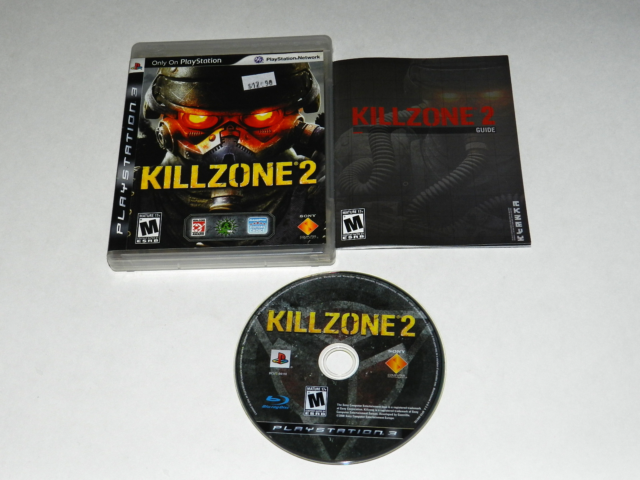Killzone 2 Playstation 3 PS3 Video Game Complete