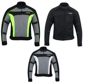 Details zu Motorradjacke mit Protektoren Herren Textil Motorrad Jacke Roller Gr. M bis 6XL