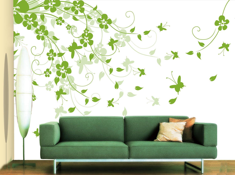 3D Cute Grün Vines 73 Wall Paper Murals Wall Print Wall Wallpaper Mural AU Kyra