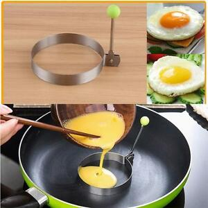 Stainless-Steel-Fried-Fry-Poacher-Pancake-Poach-Egg-Rings-Moulds-Maker-Round-NR1