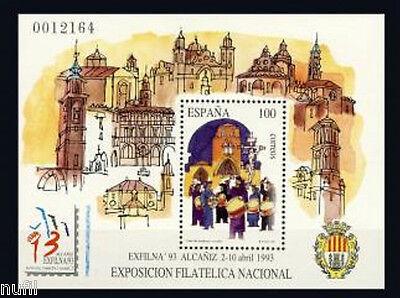 Spain  Edifil # 3249 ** MNH Set  EXFILNA 93
