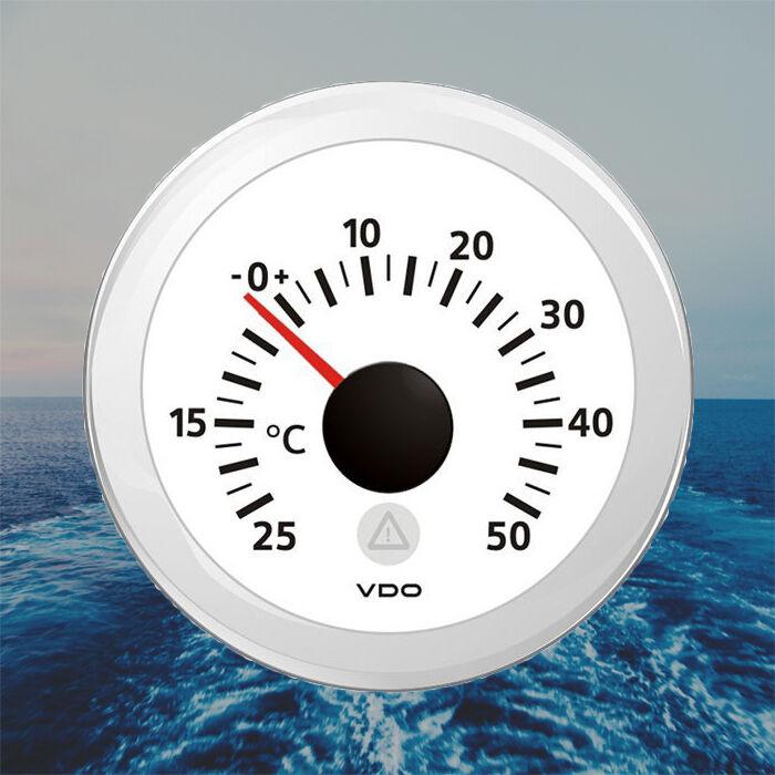 VDO Viewline Außentemperatur Anzeige 52mm 2