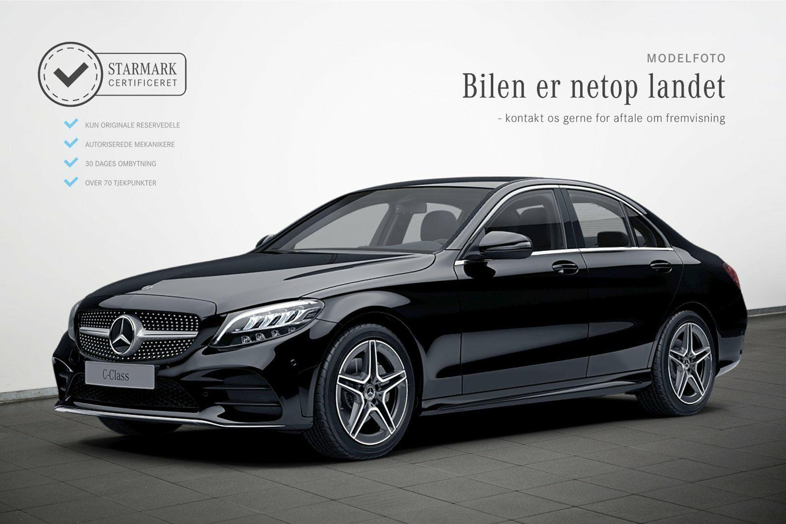 Mercedes C200 1,5 AMG Line aut. 4d - 454.900 kr.