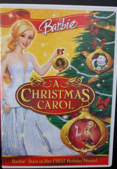 DVD Barbie in A Christmas Carol First Holiday Movie | eBay