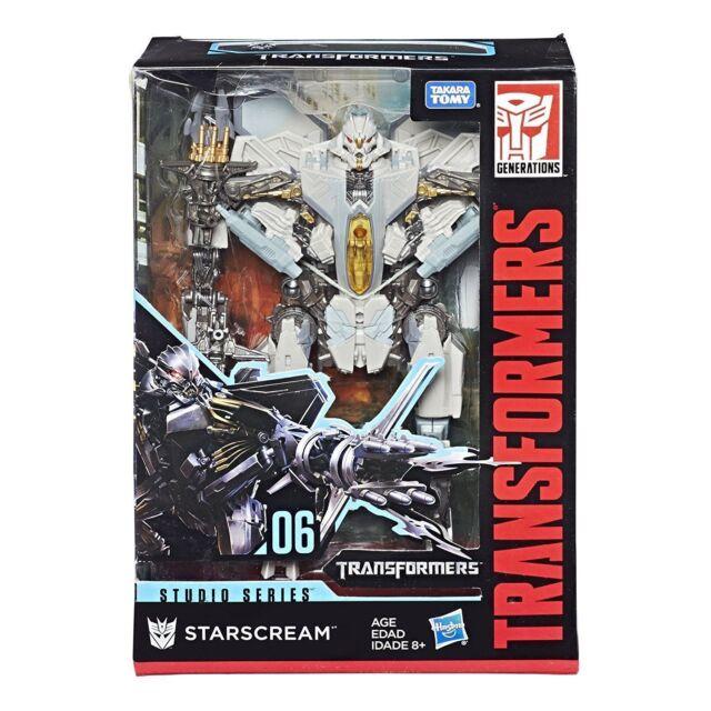 Transformers Studio Series 06 Voyager Class Starscream Action Figure