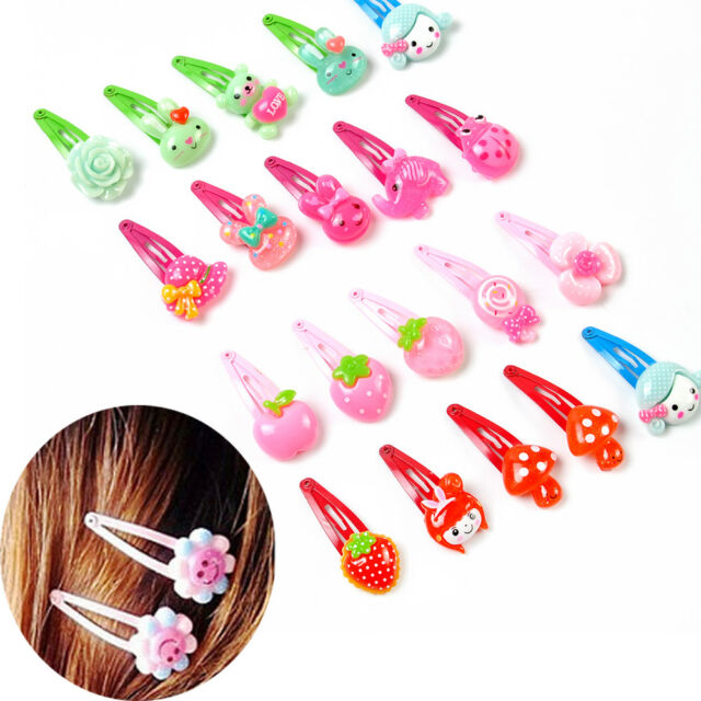 20PCS Mix Styles Baby Girls Kids HairPin Hair Clips Jewelry Wholesale Xmas Gift