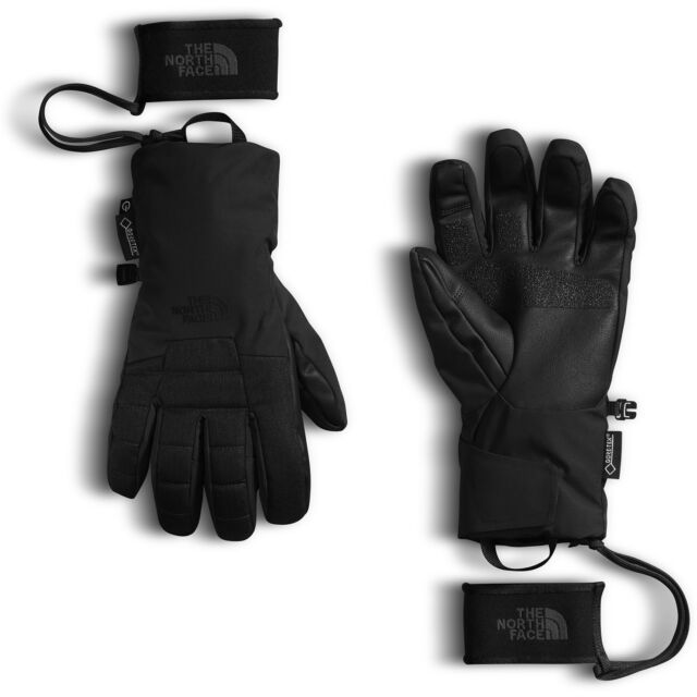 2021e8974 The North Face Men's Montana SG Gore-tex Etip Touchscreen Ski Gloves TNF  Black S