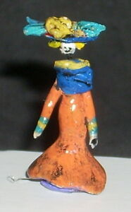 Day of The Dead Folk Art Katrina 1:12 Dollhouse Miniature Mexican Market KAT028