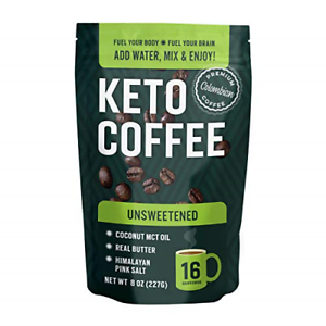 360 Nutrition Instant Keto Coffee - Just Add Water - 8 oz..