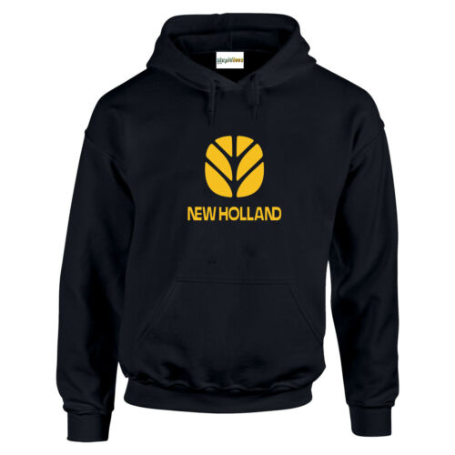5XL New Holland Tractor Fan HOODIE Enthusiast Farm Choice Of Colour Gift Small