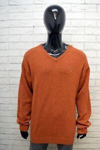 GANT-Maglione-Uomo-Pullover-Felpa-Lana-D-039-Agnello-Sweater-Taglia-3XL-Cardigan