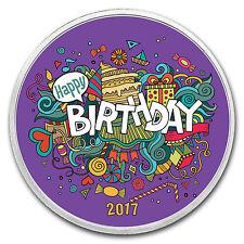 1 oz Silver Colorized Round - APMEX (Birthday Fiesta) - SKU: 117993