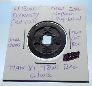 998AD-CHINESE-Northern-Song-Dynasty-Antique-ZHEN-ZONG-Cash-Coin-of-CHINA-i72685