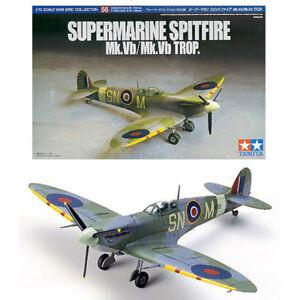 TAMIYA-60756-Supermarine-Spitfire-Mk-Vb-mk-vb-trop-Kit-de-modele-avion-1-72-eme-04899-Revell
