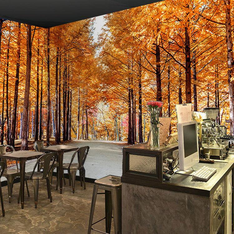 3D Beaux Arbres 70 Photo Papier Peint en Autocollant Murale Plafond Chambre Art