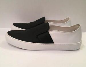 AUTHENTIC CHANEL Bicolor Slip-On Shoes