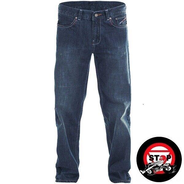 RST Mens Aramid Vintage 2 Motorcycle Jeans Light Wash Blue Long Leg 2202