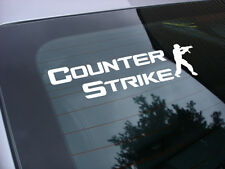 Counter Strike video game decal sticker