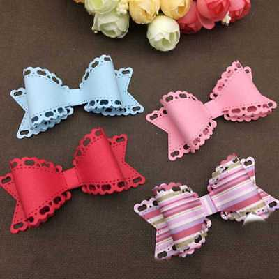 Bow Knot Tie Metal Cutting Dies Scrapbooking Embossings*stencils craft DIY Decor