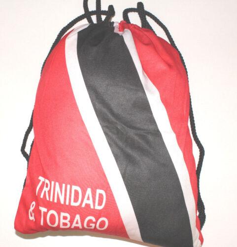 Mochila de nylon TRINIDAD Y TOBAGO CALYPSO-Jamaica Reggae Perno MARLEY