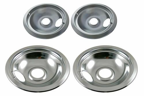 Stove Drip Pan Electric Burner Covers Top Bowl Pans for Frigidaire Kenmore