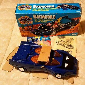 Batman Batmobile Kenner Super Powers 1984 Nouveau 100% complet