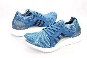 d542cf1135e Adidas Ultraboost X Parley Womens Running Shoes Blue Size 9.5 US NIB ...
