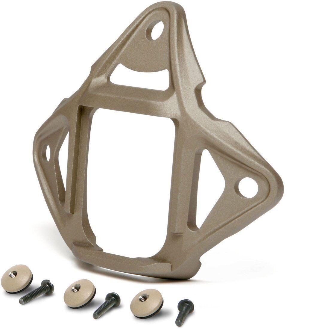 DLP Tactical 3-Hole NVG Mount Skeleton Shroud for ACH   MICH   Crye Helmet