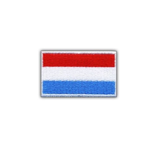 Flag of Luxembourg Embroidered PATCH//BADGE