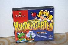 Muppet Kids Kindergarten DELUXE 2 CD Vintage Games Windows 95 or 98 Or Macintosh