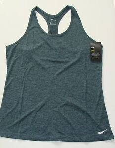 Nike Women's Balance Tank Top Active Workout Wear Sz Medium Dri-Fit Running Activewear Tops