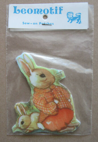 Rabbits Style 2 Vintage Leomotif Cloth Sew On Patch Badge Crafting Sewing