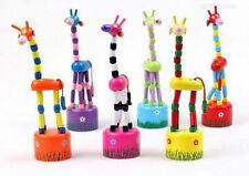 Holzspielzeug Kinder Haus Tanzen-Puppen-Felsen Giraffe Gelenke Bester Verkauf