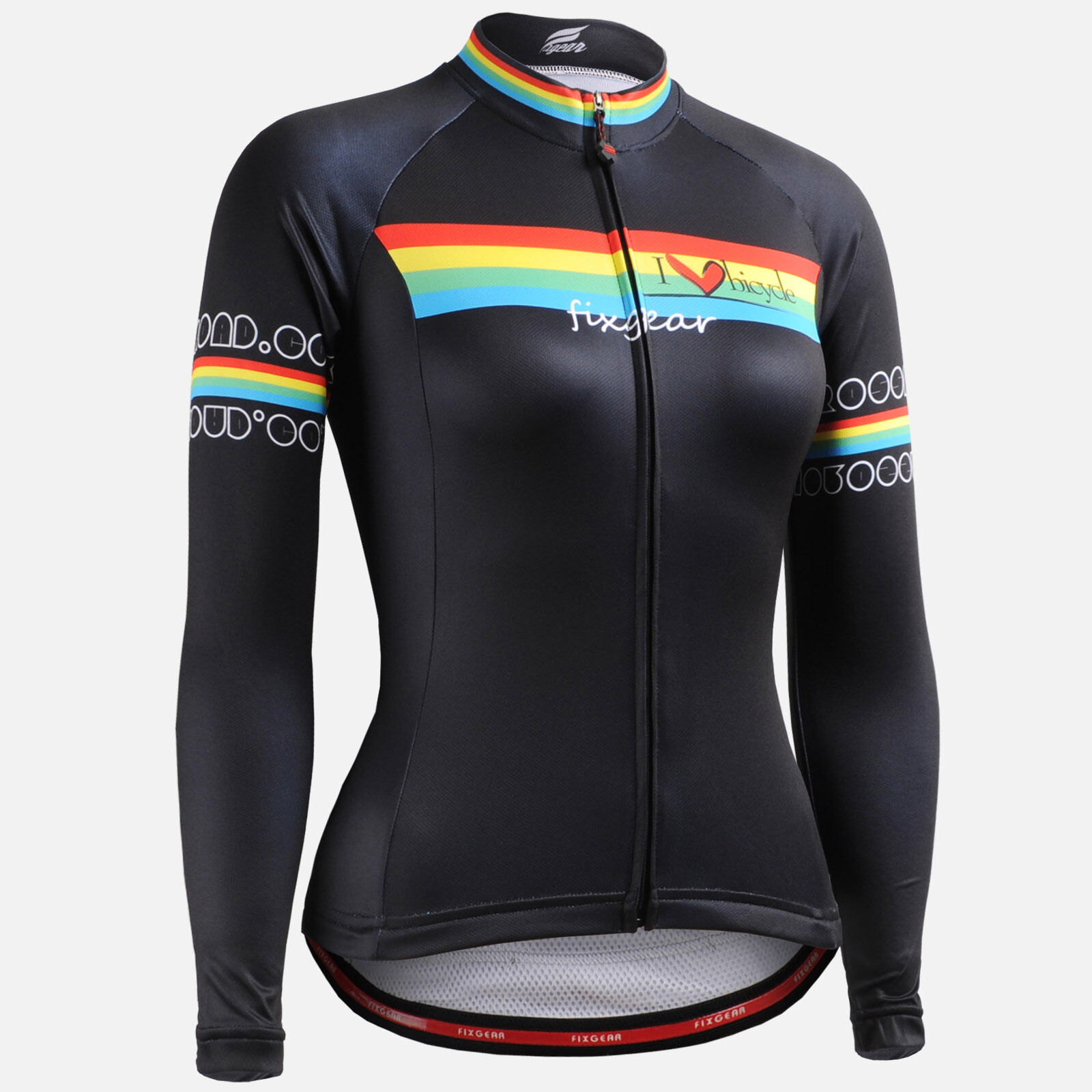 FIXGEAR Women's Cycling jersey road bike shirt bicycle wear cycle clothes W201