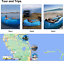 thumbnail 2 - EDEUOEY Inflatable Lounger Air Sofa: Waterproof Beach Travel Outdoor Recliner Gi