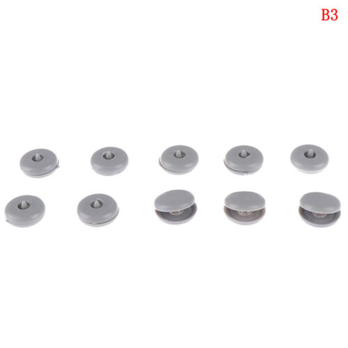 10//50Pairs universal clip seat belt stopper buckle fastener safety car parEC