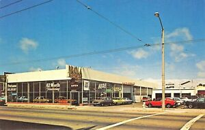 San Francisco Ca Priola Motors Car Dealership Postcard Ebay