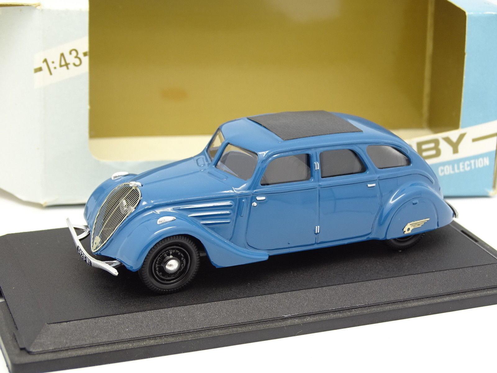 Tek Hoby Resina 1 43 - Peugeot 402 1936 Blu