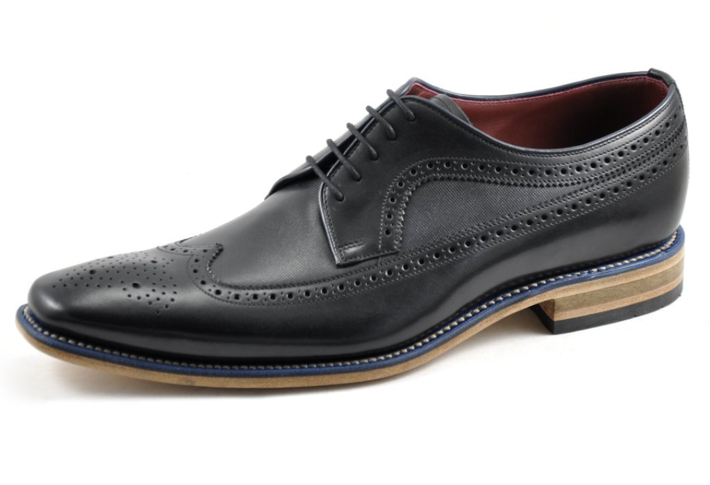 Loake Callaghan Black 10 F RRP - Brand New With Box Loake Shoes