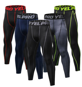 Men-039-s-Compression-Pants-Gym-Athletic-Base-Layer-Competition-Tights-Cool-Dri-fit