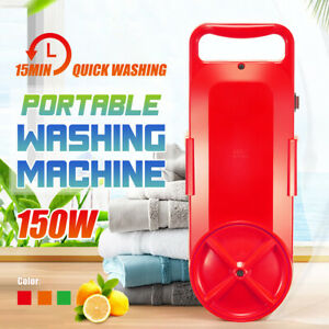 Portable-Small-Handy-Washing-Machine-Compact-Washer-Switch-amp-Timer-Fast-Cleaning