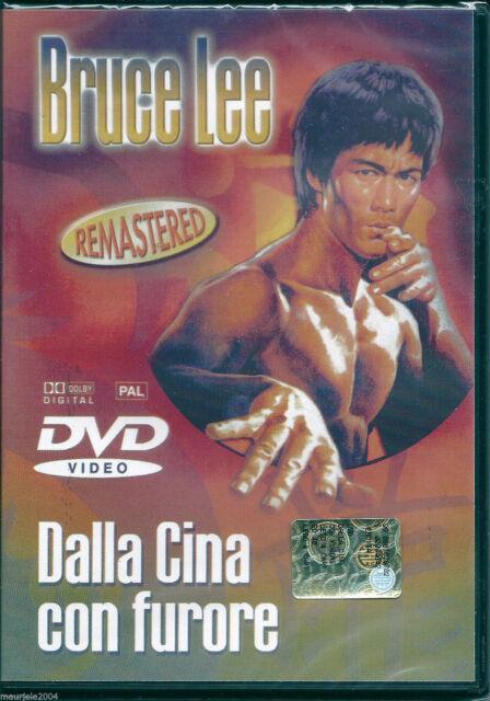 Dalla Cina con furore (1972) DVD NUOVO Bruce Lee, Nora Miao, Chen Ching Chu, Fu-