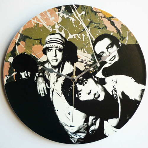 """The Stone Roses Single Artwork Collection 12/"""" LP Vinyl Record Wall Clocks"""