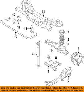 mazda oem 07 14 cx 9 rear hub bearing assembly l2062615xb ebay rh ebay com mazda cx-9 parts diagram mazda cx 9 fuse diagram