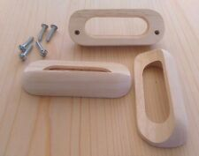 "Drawer Pulls - Wood ""Finger"" pull - (6 pieces)"